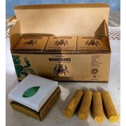 WANCHAKO - ARTISANAL PALO SANTO/7 ANDEAN HERBS INCENSE   HOLY WOOD , PACK X 12 BOXES