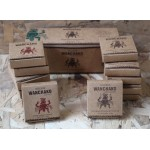 WANCHAKO NATURAL PURIFYER INCENSE,SPECIAL PACK X 12 BOXES(6 PURE PALO SANTO & 6 WITH 7 HERBS)