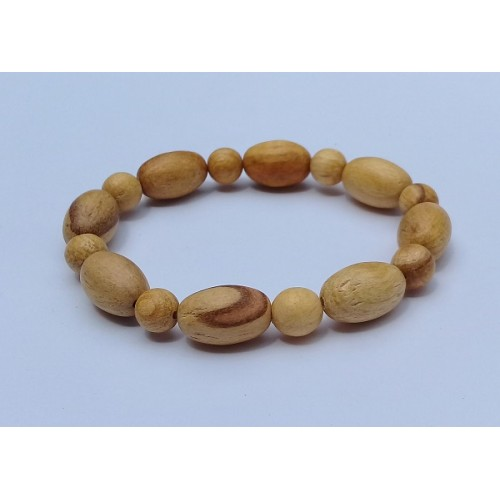PRETTY PERUVIAN BRACELET HANDMADE HOLY WOOD,